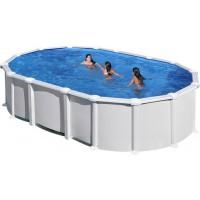 Oval pool - fritstående