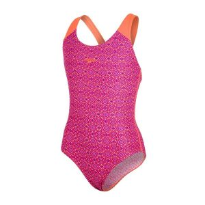 SPEEDO Girl Polka Allover Splashback (violet/pink/orange)