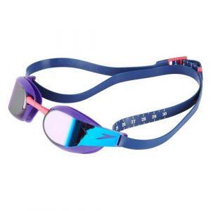 SPEEDO svømmebriller model Fastskin Elite Mirror (violet/blue)