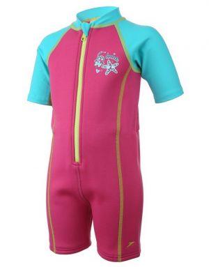 SPEEDO Hot Tot Suit Seasquad (pink/blue)