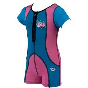 ARENA Warm Suit (fuchia/blue)
