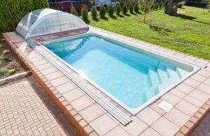 Swimmingpool, keramisk AMETYST, 6,18x3,14x1,40 m