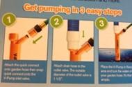 V-pump dykpumpe