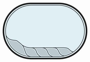 Swimmingpool glasfiber OLYMP