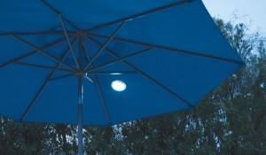 Magnetlys i parasol